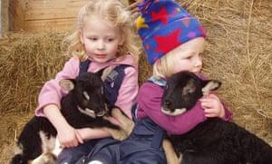 Nannerth farm, Wales