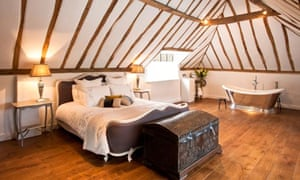 Low beams and cosy nooks at the Church House Midhurst