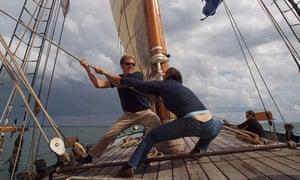 Ocean Sailing Cape Horn