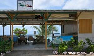 Jamrock Beach Bar on South Friars Bay