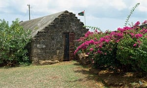 Fort James in Plymouth, Tobago.