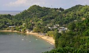 Castara Bay, Tobago.