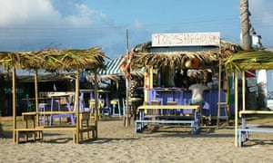 Shiggidy Shack bar, St Kitts