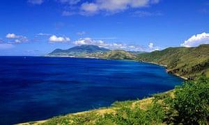 South Friar's bay Coastline St Kitts