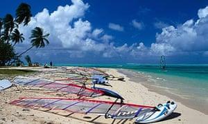 Windsurfing, Pigeon Point Tobago