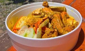 Crab and Dumpling, Tobago.