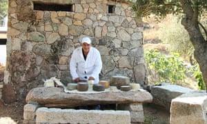 Azienda Erlikes cheesemaker, Sardinia