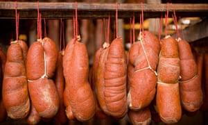 Mallorca sausages