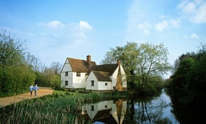 Willy Lot's Cottage in Suffolk