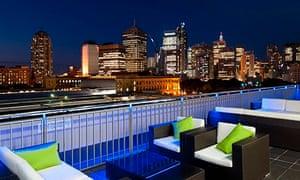 Bounce Sydney's roof terrace