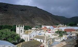 Jamestown, capital of St Helena