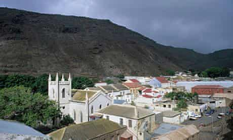 Jamestown, capital of St Helena