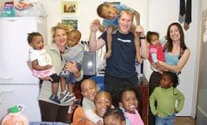 Meeting children in Khayelitsha