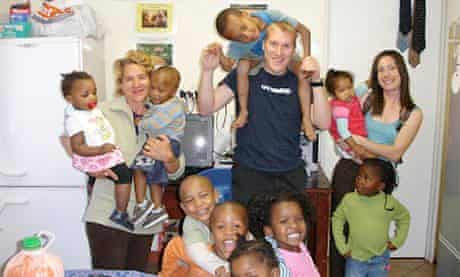 Meeting children in Khayelitsha