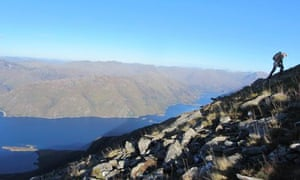 Guardian writer Andrew Gilchrist walking on Knoydart