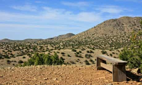 Cerillos Hills state park, New Mexico