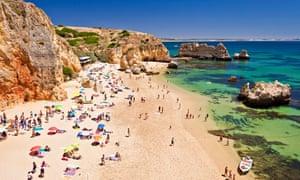 Praia da Dona Ana, the Algarve, Portugal
