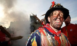 The Haxey Hood, a traditional event held in the village of Haxey, North Lincolnshire