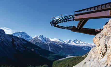 Glacier Skywalk, Alberta, Canada
