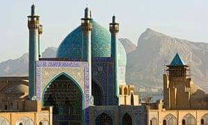 Mosque in Imam Square, Esfahan, Iran