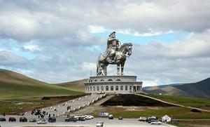 Chinggis Khaan statue, surrounding of Ulaan Baatar, Mongolia