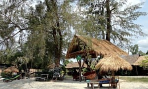Castaways Beach Bar & Bungalows, Otres Beach, Cambodia