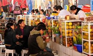 San Pedro Market, Cuzco, Peru
