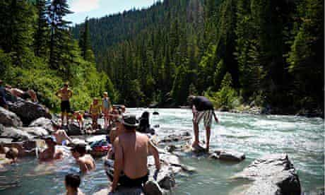 Halfway and Lussier Hot Springs, Canada