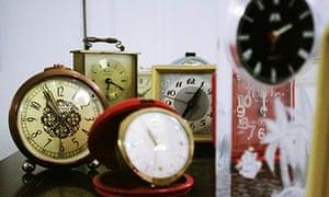 Clocks at Ziferblat