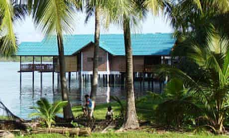 Outside the waterhouse, Koh Yao Noi, Thailand