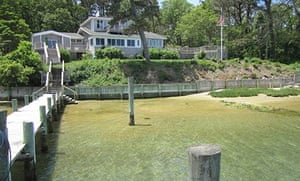 House on the water, Martha's Vineyard, Mass