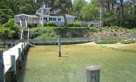 House on the water, Martha's Vineyard, Mass