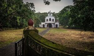 Chorao island church. Goa