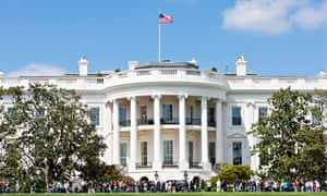 """The White House. View of the crowd across the South Lawn. Open Garden Tour Washington DC D.C"""