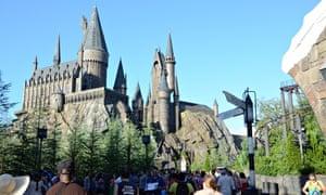 """Inside the  Wizarding World Of Harry Potter at Universal Studio's, Orlando Florida."""