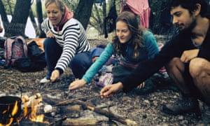 Round the campfire on a river Lea secret adventure