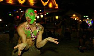 """""""Full Moon Party In Thailand"""""""