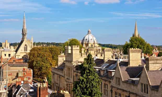 Oxford city view