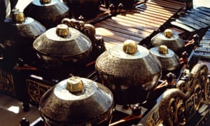 """Javanese Gamelan Gongs and Keyboard."""
