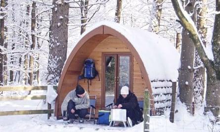 Winter Pod, Langdale, Lake District