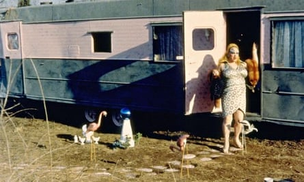 Divine in a scene from John Waters' Pink Flamingos