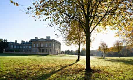 Blaise Castle House and Land in Autumn Bristol England. Image shot 2007. Exact date unknown.