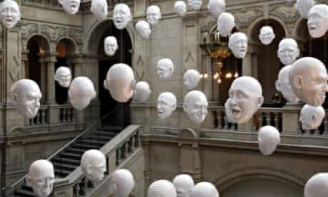Expression - Heads by Sophie Cave, Kelvingrove Art Gallery and Museum, Glasgow, Scotland