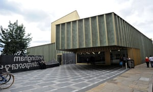 The new Nottingham contemporary arts centre