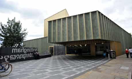 The new Nottingham contemporary arts centre