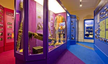 Some of the displays inside the North Lincolnshire Museum in Scunthorpe.