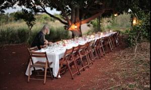 Preparing for dinner … Dool's organic farm, Pedro Plains