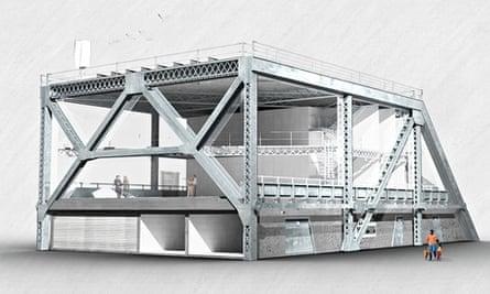 Design for the Bay Bridge House