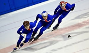 Speed skating and short track