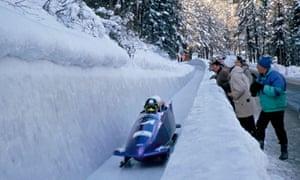 bobsleigh, St Moritz, Switzerland